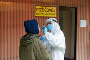 The testing in Nitra on November 1, 2020.