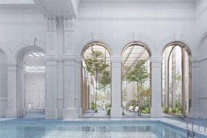 The winning design of renewed Grössling bathhouse by OPPS Architettura