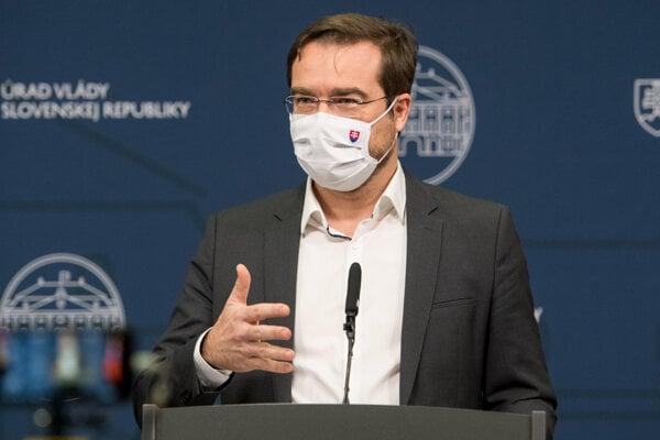 Health Minister Marek Krajčí