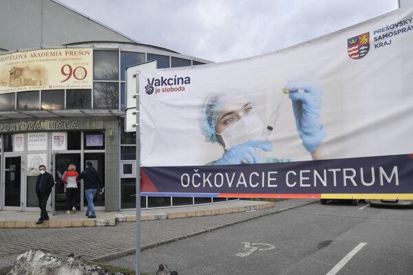 Prešov vaccination centre