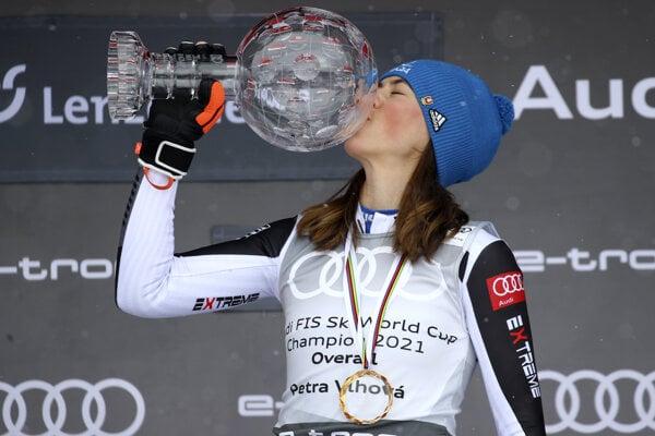 Petra Vlhova has won the Alpine Ski World Cup 2020/2021