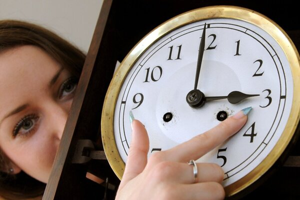 Slovakia will switch to the daylight savings time this coming Sunday.