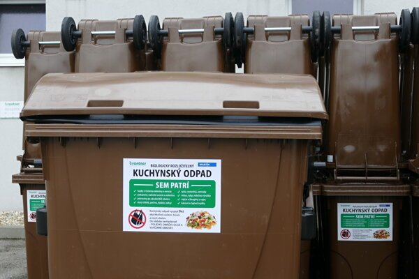 Bio waste comprises about 45 percent of waste bins.