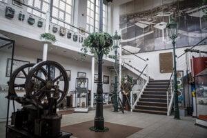WEEK 13: The History Pavilion of the Slovak Gas Museum in the Slovenský plynárenský priemysel (SPP) area in Bratislava.