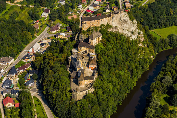 Orava Castle is located in the north of Slovakia.
