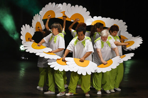 The festival of dramatic creativity of people with disabilities, called MOST ÚSMEVOV (Bridge of Smiles), took place on June 23, 2021, in Košice.
