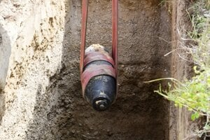 The WWII-era aerial bomb found in downtown Bratislava on July 20 was detonated outside of the city.