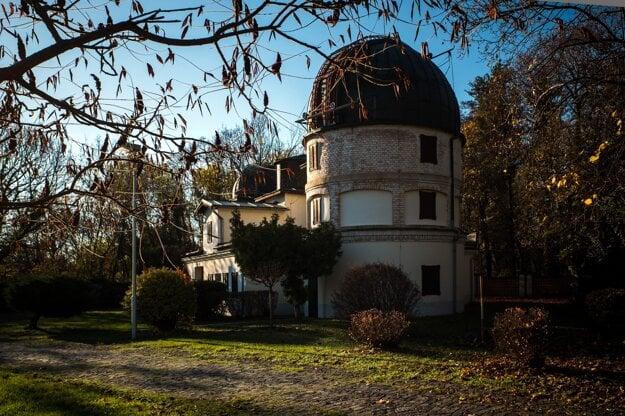 The Slovak Central Observatory in Hurbanovo.