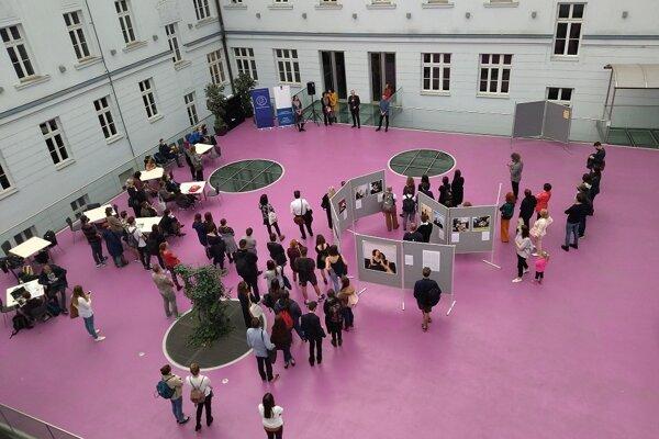 The 'Unhidden Love' exhibition at Comenius University Bratislava runs until October 18, 2021.