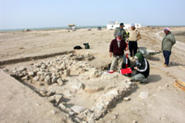 Slovak archaeologists uncovered ancient Mesopotamian seals on previous digs.