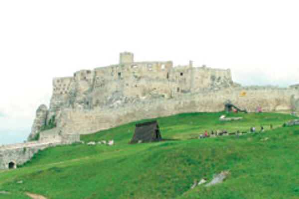 Spiš Castle is one of eastern Slovakia's main tourist attractions.