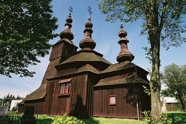 A wooden church in adomirová.
