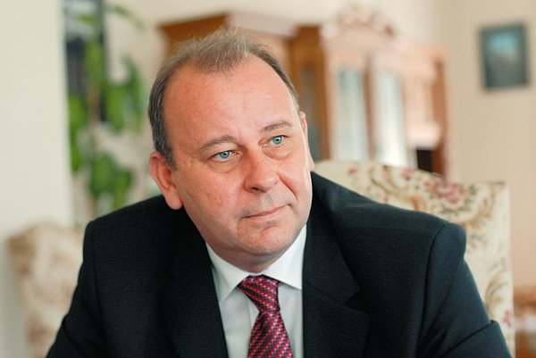 Gheorghe Anghel, charge d'affaires at Romania's embassy to Slovakia.