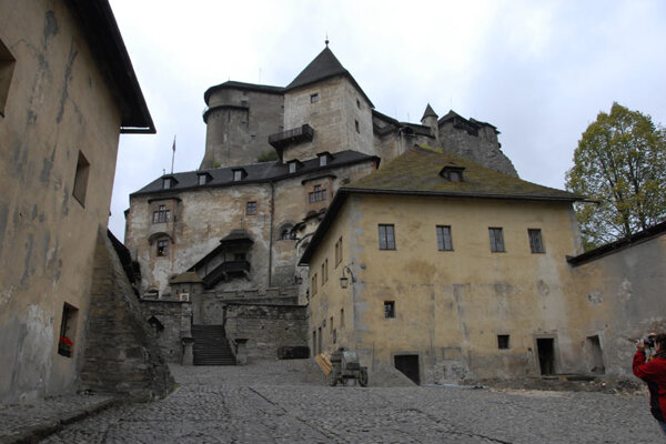 Orava Castle is a popular destination that attracts thousands of tourists.