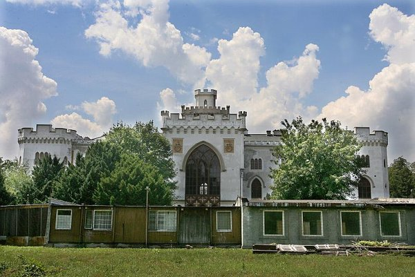 Rusovce Castle is awaiting better times.