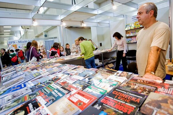 Books galore: English-language titles are now more widely available in Slovakia.