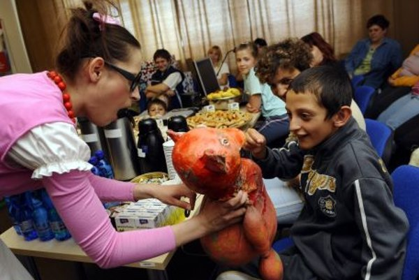 Event for patients of the Children Cardio centre