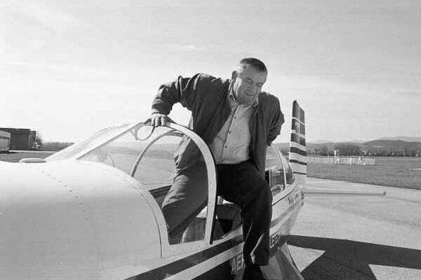 Flying is among Ján Slota's passions.