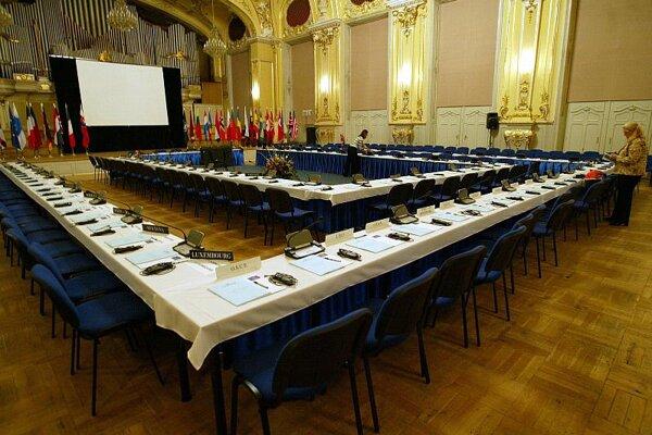 Bratislava sometimes holds congresses in the Reduta.