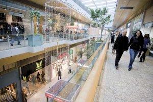 Bratislava's Aupark shopping centre.
