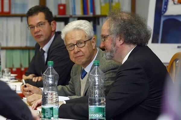 Members of the delegation in Bratislava.