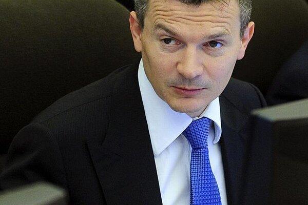 Finance Minister Ján Počiatek: he or his successor must cut the budget deficit.