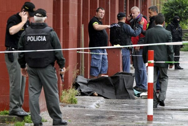 Seven people have died as a result of a shooting spree in Bratislava.