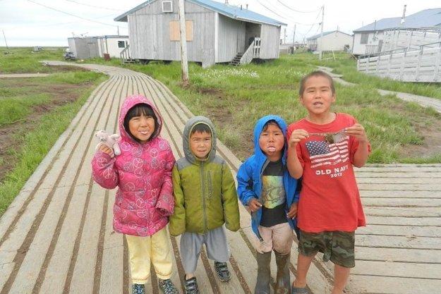 Eskimácke oblasti sú v ohrození.