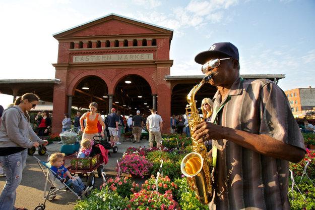 Eastern Market v Detroite.