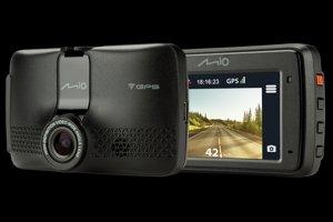 Moderní autokamera Mio MiVue 733 WIFI (www.MIOkamery.sk)