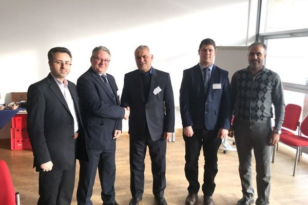Pedagógovia zo Slovenskej poľnohospodárskej univerzity v Nitre s partnermi z iránskych univerzít Babol Noshirvani University of Technology a Sari Agricultural Sciences and Natural Resources University