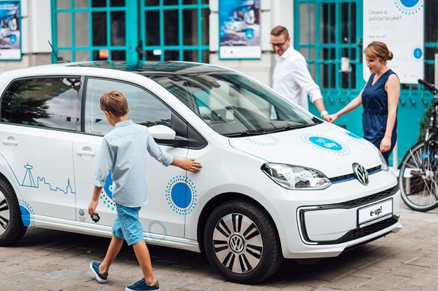 Rodinné výlety s Volkswagen e-up!