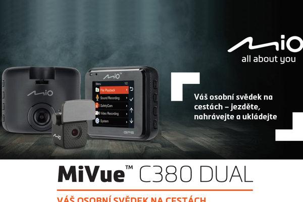 S kamerou MiVue C380 Dual se nemáte čeho obávat
