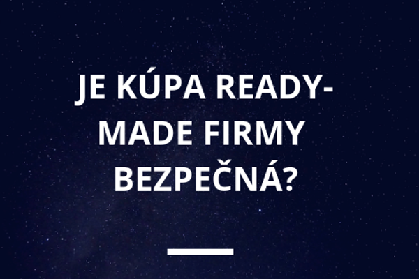 kúpa ready made firmy