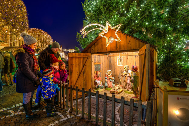 Betlehem na vianočných trhoch (C) Magistrat Eisenstadt
