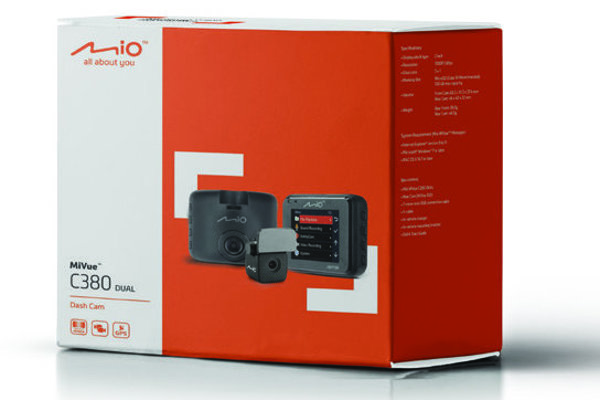 Duální autokamera Mio MiVue C380 nově s režimem Parking!