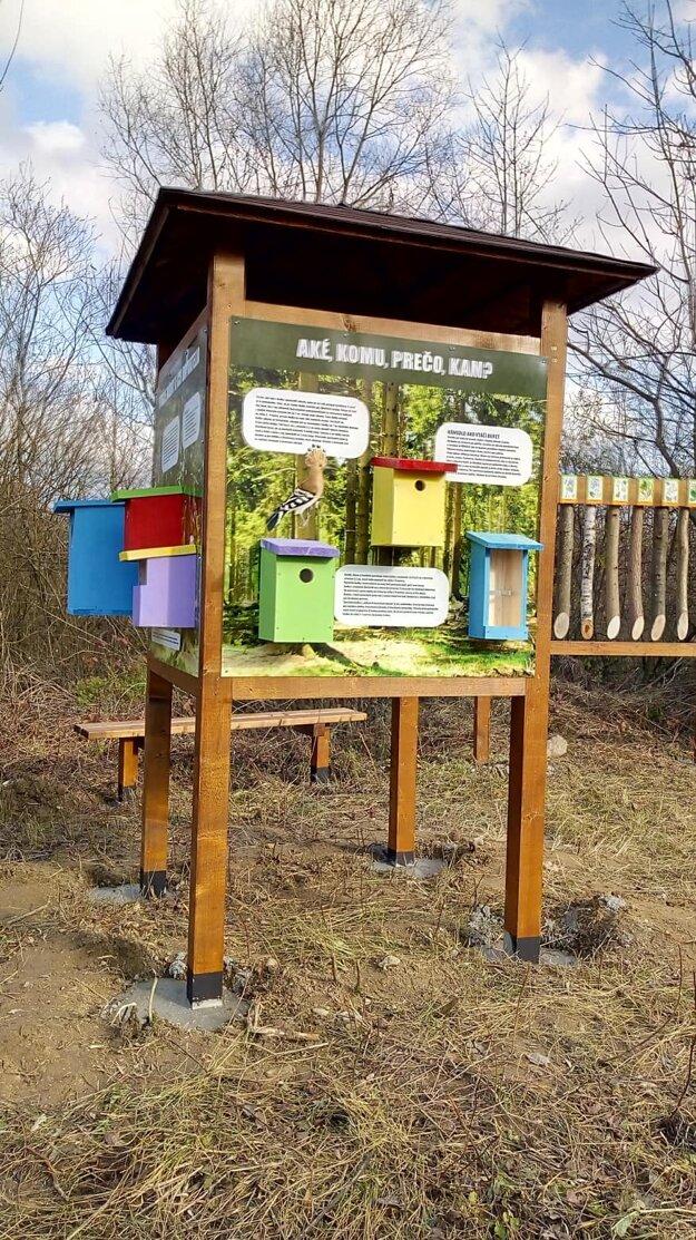 EKOcentrum pod Širákom - lokalita je interaktívnou učebňou v prírode