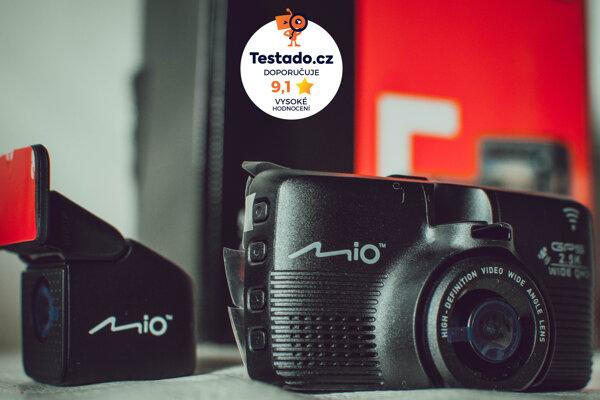 Nezávislý test serveru TESTADO zhodnotil autokameru Mio MiVue 798 wifi 2.5k - téměř nejvyšším ohodnocením!