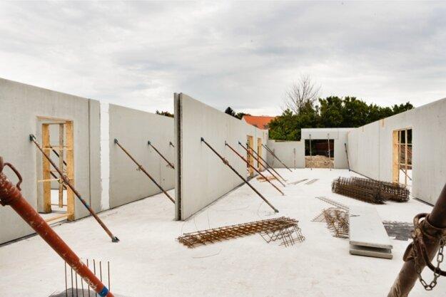 prefabrikované stenové prvky Leier