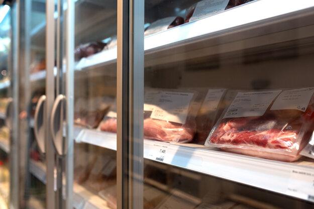 Na pultoch nájdete len 100-percentne čerstvé mäso.