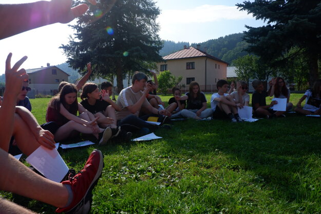 Workshop o rasizme a xenofóbii v Oščadnici.