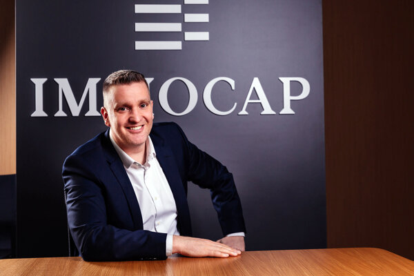 Martin Marko, obchodný riaditeľ spoločnosti Immocap