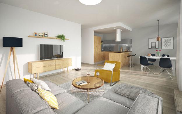 Vzorový byt v projekte Nový Ružinov