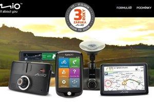 Autokamery Mio a navigace teď s 3letou záruční dobou!