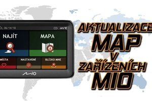 Ako aktualizovať autonavigáciu Mio?