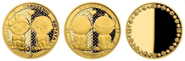 Dukát k narodeniu dieťaťa môže byť prvou časťou celoživotného zlatého pokladu.