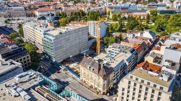 V centre Bratislavy realizuje skupina Proxenta výstavbu projektu Kesselbauer.