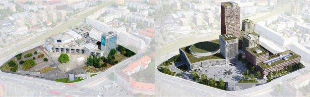 Porovnanie zelene: súčasnosť vs. budúcnosť