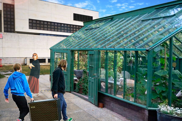 Víťazný projekt GREENHOUSE - verejný skleník.