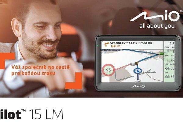 Mio Pilot je cenově dostupná a funkce nabitá autonavigace